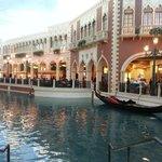 Inside Venetian canals and gondolas
