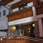 Feb 2014 Snowfall Hotel Chalet Capriolo