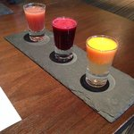 Our Welcome drinks - yummy veg juice