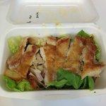 Crispy chicken salad!!! Amazing!!!