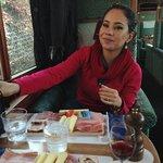 refeição a bordo