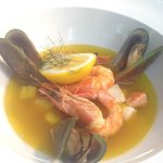 Our delicious seafood bouillabaisse