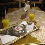 Fresh OJ and Turkish Delights