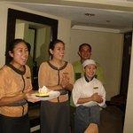 Cake peresentation