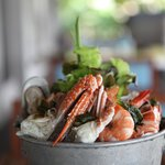 seafood platter cold