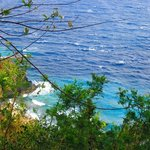 Rocks and blue seas