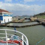 Double gates at Miraflores Lock