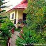 Our bungalow in the gardens