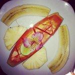 Fruits plate... yummy!