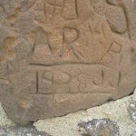 The oldest graffiti I found on the hill was from 1938!