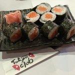 Tokyo Club Salmon Sushi Plate