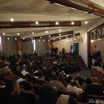 Sala Congressi Anfiteatro Torrione durante convegno FIOM