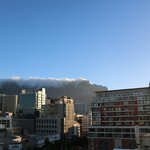 Table Mountain view from apartments