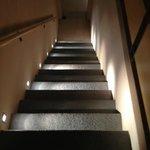 scale dalla stanze alla reception