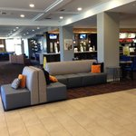 Lobby area/cafe