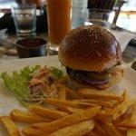 Délicieux beef burger