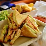 room service - club sandwich