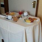 Petit déjeuner room service