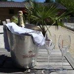 pétanque et champagne