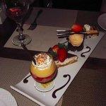 medley choice of desserts