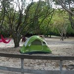 Panoramic of campground (A or B section?)