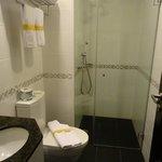 Clean and modern bathroom