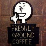 Freshly Ground Coffee always available!