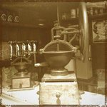 Historic coffee grinder