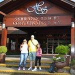 Recepção do Serrano Resort