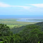 One of the Lookout points... The Daintree River Meets the Ocean