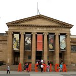 Entrance of Gallery of New South Wales