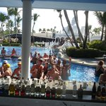 pool bar in the afternoon was fun