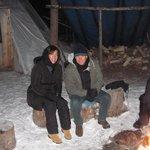 esperando a aurora boreal