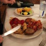 Plate of brekafst grub...not mine