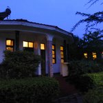 Hyggelig hus vi overnattet i.