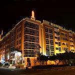 Elite Seef Residence - Facade at Night