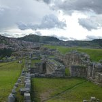 This is a huge Inca ruin site