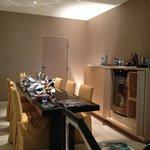 Dining room/bar/refrigerator