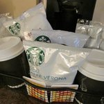Starbucks Coffee!