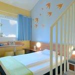 B&B Hotel Bochum-Herne - Familienzimmer für 4 Personen