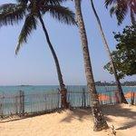 Пляж UBR
