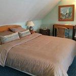 Le grand lit de la suite au 4ème étage