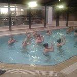 Aquarobics class
