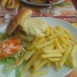 Double Chicken Burguer