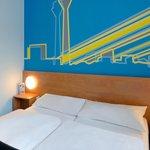 B&B Hotel Düsseldorf-Hbf - Zweibettzimmer