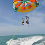 Loved the parasailing! Ryan took some amazing pics!