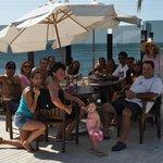 Deck entre la Piscina y la Playa