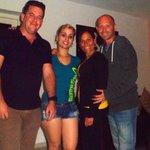 Con Alain y Lety