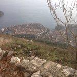 Dubrovnik from Srd Hill