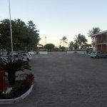 vista pro mar do estacionamento